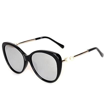 Wkaijc Doppel Perle Polarisiert Mode Persönlichkeit Kreativität Lässig Bequem Sonnenbrillen Sonnenbrillen ,C
