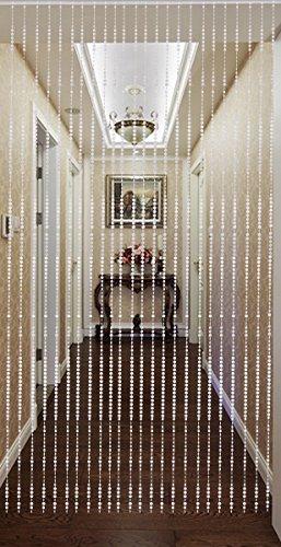 Beautiful Home Decor Acrylic Beaded Curtain - Acrylic Crystal Round Buttons ()