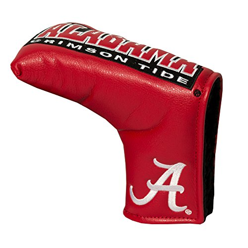 Team Golf NCAA Alabama Crimson Tide Golf Club Vintage Blade Putter Headcover, Form Fitting Design, Fits Scotty Cameron, Taylormade, Odyssey, Titleist, Ping, -