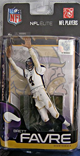 Brett Favre, Vikings #4, NFL Elite Action Figure from McFarlane