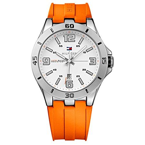 Tommy Hilfiger Men's 1791063 Analog Display Quartz Orange Watch