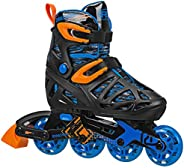 Roller Derby Boy's Tracer Adjustable Inline S