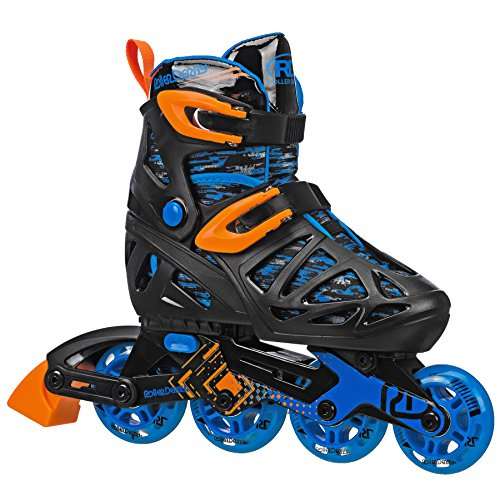 Roller Derby Tracer Boy's Adjustable Inline Medium (2-5) (Boys In Line Skates)
