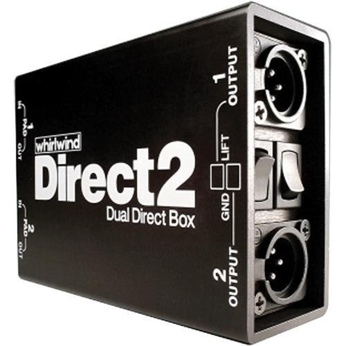 Stereo Direct Box - Whirlwind DIRECT2 Dual Direct Box