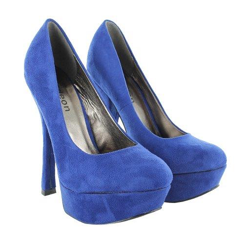 Footwear Sensation - Sandalias de vestir de sintético para mujer azul - azul