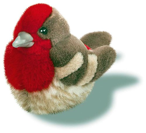 House Finch - Audubon Plush Bird (Authentic Bird Sound)