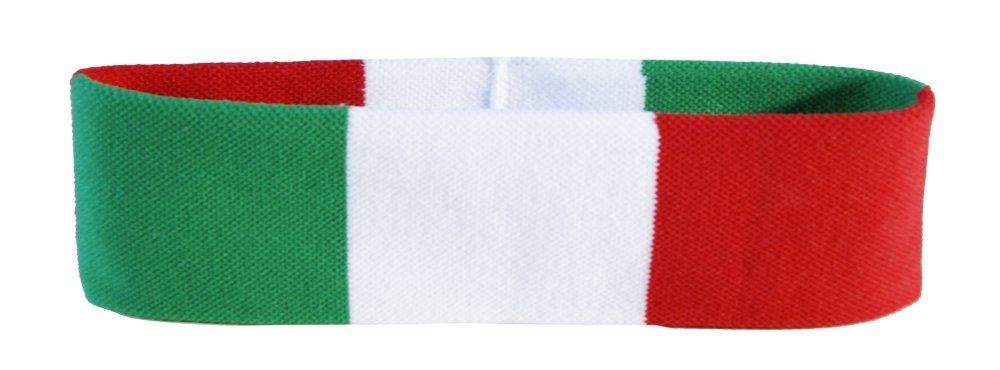 Flaggenfritze® Stirnband mit Italien Flagge