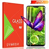 TAIKON OnePlus 6 Screen Protector [2 Pack], Full Coverage HD Tempered Glass Anti-Scratch Bubble-Free Screen Protector for OnePlus 6