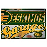 CFL Edmonton Eskimos Garage Sign