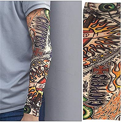 ciclismo deportes tatuaje mangas deportes brazo manga correr ...