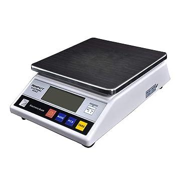 KAHE2016 - Báscula postal profesional y báscula digital (escala de precisión de 7,5 kg, pantalla LCD de 0,1 g, varios modos de peso): Amazon.es: Oficina y ...
