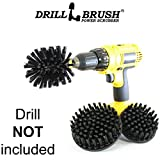 Heavy Duty Nylon Drill Powered Cleaning Brush Kit Used for Cleaning BBQ Grills by Drillbrush