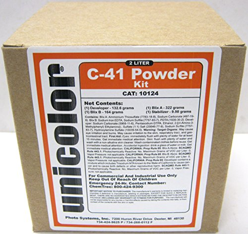 c41 developing kit - 2