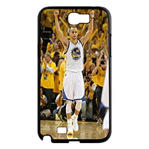 Golden State Warriors Stephen Curry Pattern Productive Back Phone Case For Samsung Galaxy Note 2 Case -Style-5