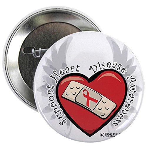 Heart Disease Awareness Button
