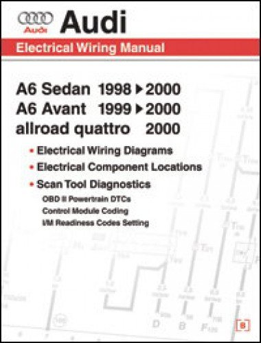 AW61 Audi A6 Electrical Wiring, Component Location and Diagnostic Trouble Code Manual