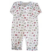 Kissy Kissy Baby-Boys Infant First Responder Print Playsuit-Multicolored-6-9 Months