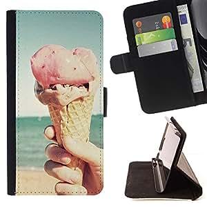 Momo Phone Case / Flip Funda de Cuero Case Cover - Sommer - Sony Xperia Z5 Compact Z5 Mini (Not for Normal Z5)