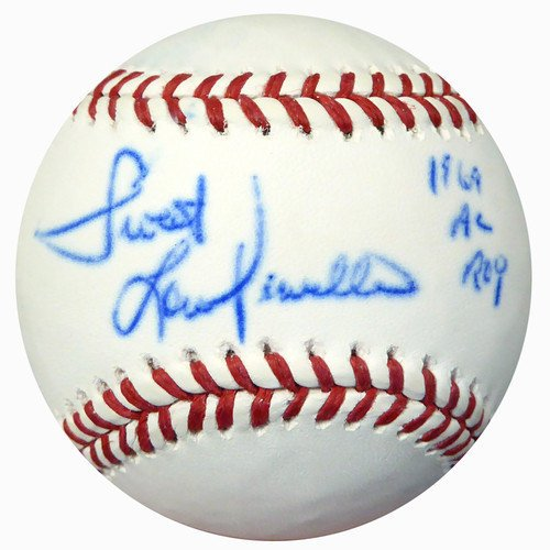 Lou Piniella Autographed Mlb Baseball (Sweet Lou Piniella Autographed Signed Official MLB Baseball New York Yankees 1969 AL ROY - PSA/DNA Certified)