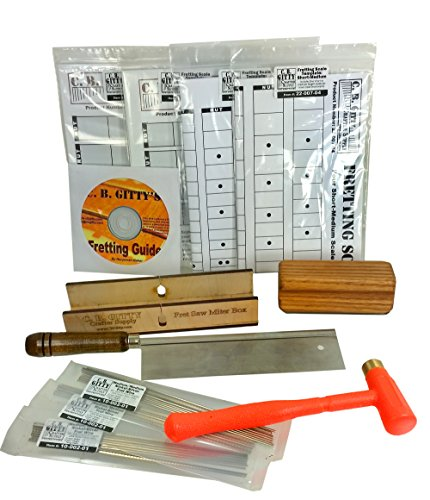complete cigar box guitar fretting starter kit tools templates frets how to guide buy. Black Bedroom Furniture Sets. Home Design Ideas