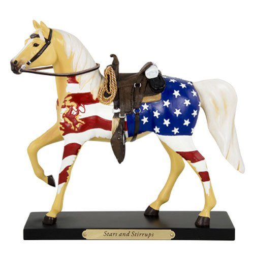 (Enesco Trail of Painted Ponies from Stars and Stirrups Figurine 7 in)