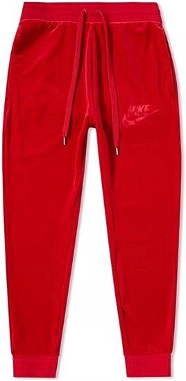 nike sweats red