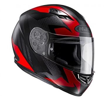 HJC 10117108 Casco de Moto, Treague, Talla M