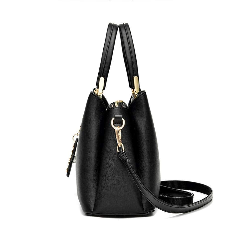 Handväskor för damer atmosfärisk handväska en axel diagonal väska läder handväska axelväska crossbody axelväska tygväska resa handväska a