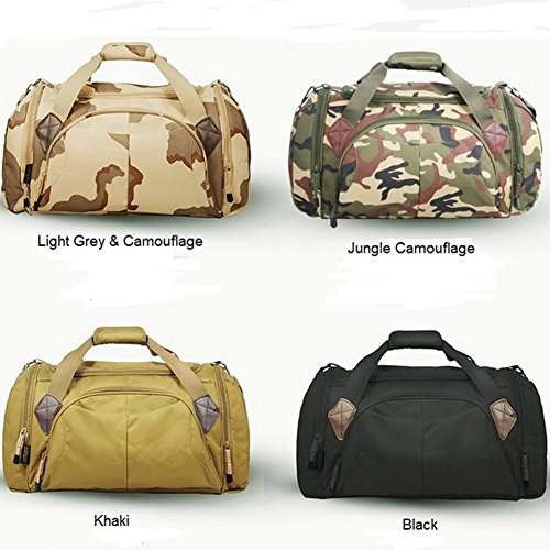 Mountineering aire viaje 45L Bolsas de deportes libre Generic Camouflage Tote al Jungle Camouflage bolsa Jungle xYE0wcgq
