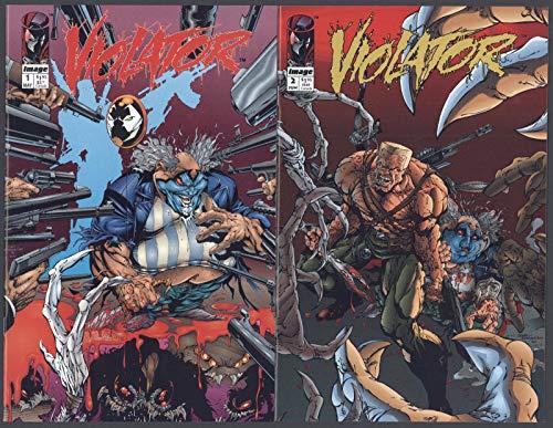 Violator #1-3 NM Spawn Complete Set Full Run Alan Moore Image Comics 1994 CBX36