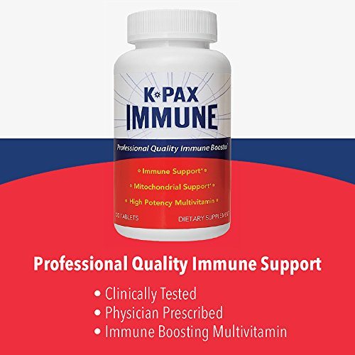 Physician Formulated K-PAX Immune with High Potency Mitochondrial Nutrients – Immune Boosting Multivitamin – Supports Immune Function, Energy & Well-Being – Dr. Recommended (120 Tablets)