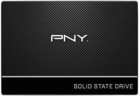 """PNY CS900 500GB 3-D NAND 2.5"""" SATA III Internal Solid State Drive (SSD) - (SSD7CS900-500-RB)"""