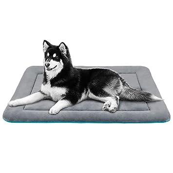 JoicyCo - Alfombrilla de Cama para Perro, Lavable, Antideslizante, Suave, para Mascotas de 27,5/36/42/47 Pulgadas: Amazon.es: Productos para mascotas