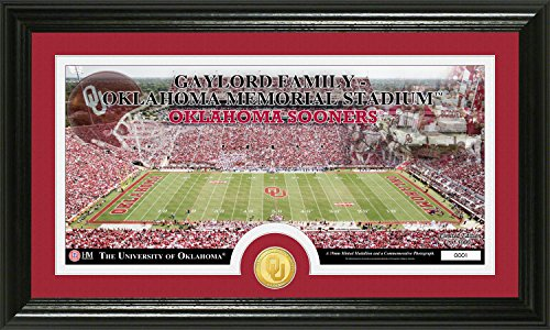 NCAA Oklahoma Sooners Stadium Coin Panoramic Photo Mint, 22