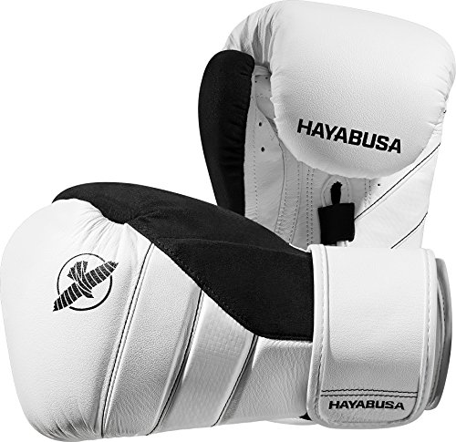 - Hayabusa T3 16oz Boxing Gloves (White/Black)