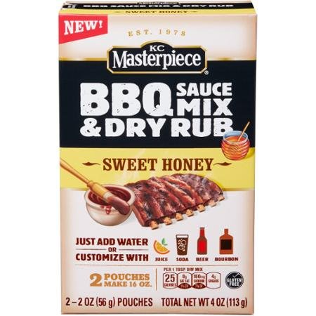 KC-Masterpiece-Sweet-Honey-Barbecue-Sauce-Mix-Dry-Rub-PACK-OF-4