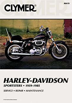 Clymer Repair Manual For Harley Sportster Xlhxlchxl 59-85 1