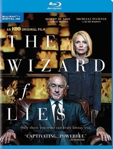 Blu-ray : The Wizard of Lies (Full Frame, Eco Amaray Case, Dolby, AC-3, Digitally Mastered in HD)