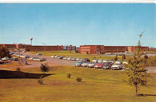 State College Mississippi University Smith Hall Vintage Postcard - Colleges University Mississippi