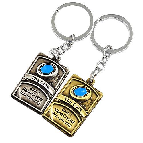 Hearthstone Card Package Keychain