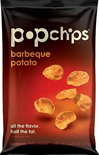 Popchips Potato Chips, BBQ, 6.25 Ounce (Pack of 12) (Popchips Bbq Potato Chip)