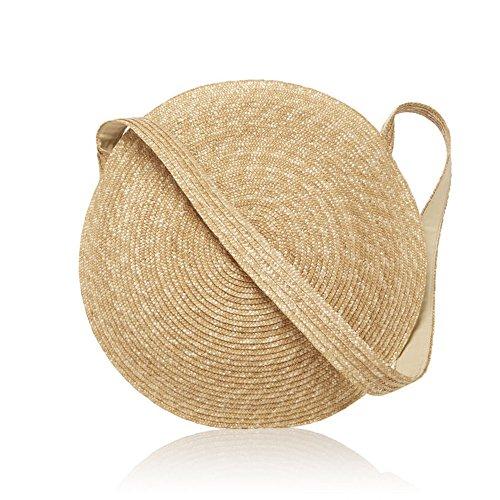 Grande Paglia Summer Vintage Borsa Da Per Spiaggia Messenger Borse Donna Di Lusso Cerchio Meaeo Borsette Donne Viaggi n1HqwY4