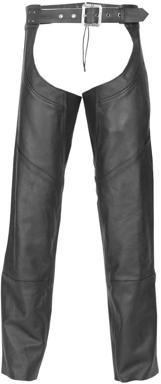 Highway 21 Unisex-Adult Maverick Chap Black, Large