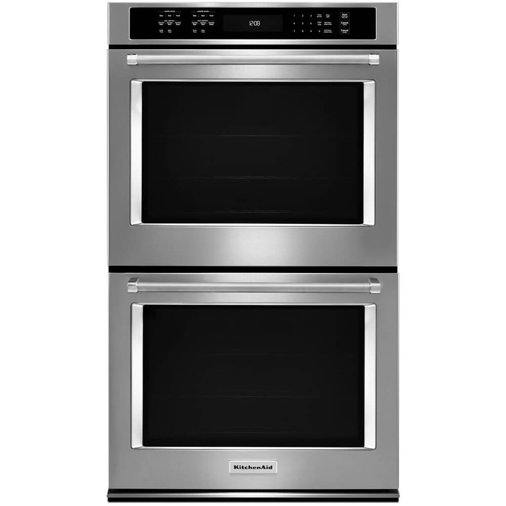 Kitchen Aid KODE500ESS KODE500ESS 30 10 Cu. Ft. Electric Double Wall Oven by KitchenAid