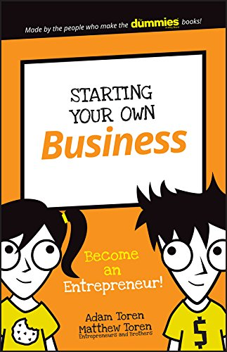 Starting Your Own Business  Become An Entrepreneur   Dummies Junior