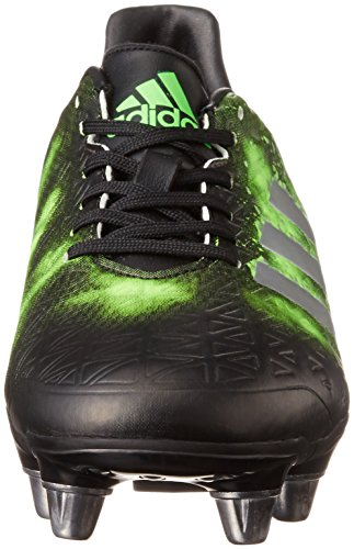 adidas Kakari Elite SG, Scarpe da Rugby Uomo, Nero (Negbas/Plamet/Versol), 44 EU