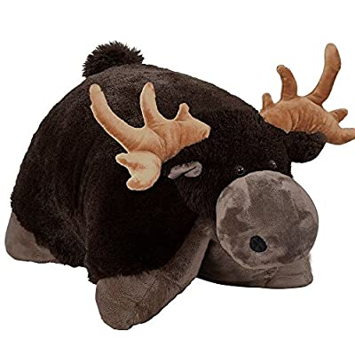 Pillow Pets Wild Moose Stuffed Animal Plush Toy 18 Inches: Toys & Games