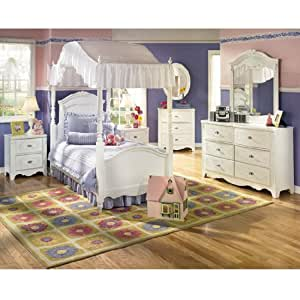 Amazon.com - Exquisite Youth Canopy Bedroom Set by Ashley ...