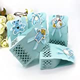 MAZIMARK--12pcs Cute Baby Shower candy box Party Decoration Kid Gift Sweet Birthday Bag TB