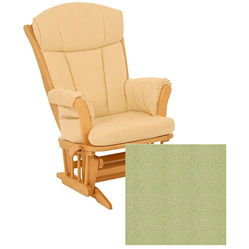 Dutailier 908 Series Maple Multiposition Reclining Glider W/Lock in Natural With Cushion 0496 by Dutailier